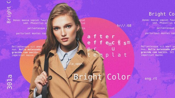 Videohive Bright Colorful Opener Free Download