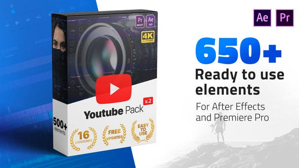 VIDEOHIVE YOUTUBE PACK 24980642 Free Download