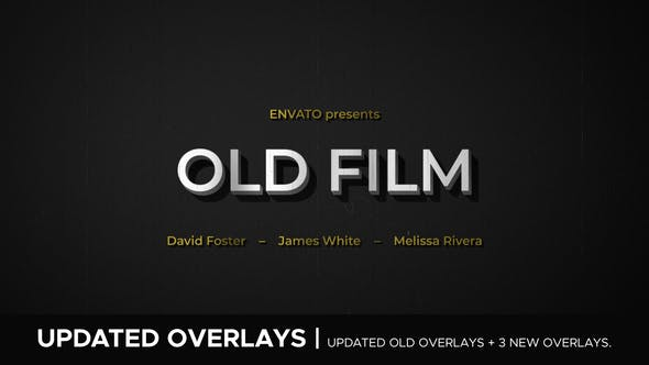 Videohive Old Film 24109098 – After Effects Project Files