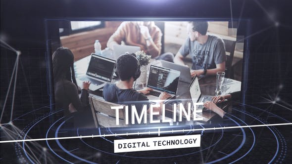 Videohive Digital Techonology Timeline Free Download