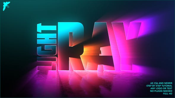 Videohive Light Ray Logo Free Download