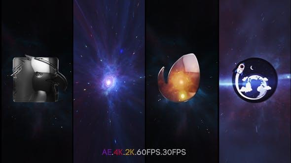 Videohive Space Vortex Logo Intro Free Download