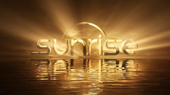 Videohive Sunrise Logo Free Download