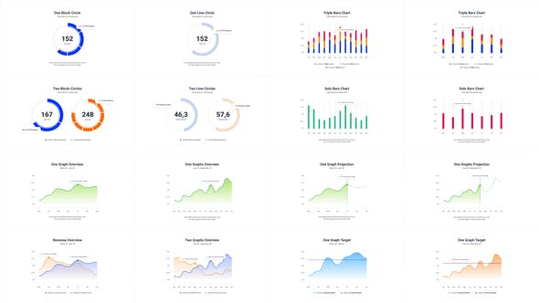 Videohive Infographics Charts Pack 2 Free Download