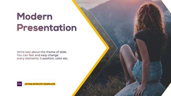 Videohive Modern Style Presentation Free Download