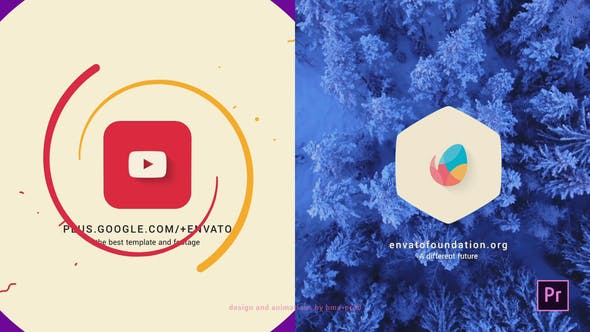 Videohive Simple Flat Logo Intro – Premiere PRO Free Download