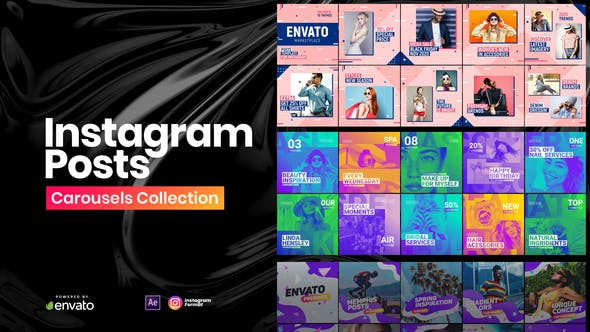 Videohive Instagram Posts Collection Free Download
