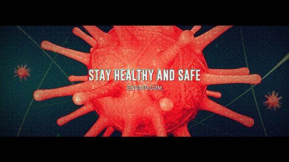 Videohive Coronavirus Titles Free Download