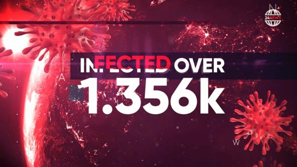 Videohive Pandemia – Hot News, Stats, Politics Opener Free Download
