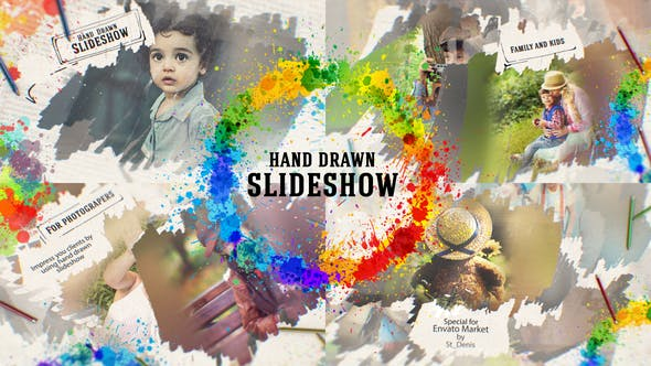 Videohive Hand Drawn Slideshow 26144584 Free Download