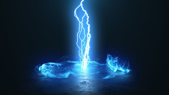 Videohive Vortex Lightning Explosion Logo Free Download