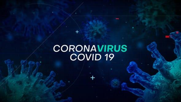 Videohive CoronaVirus Intro 26166337 Free Download