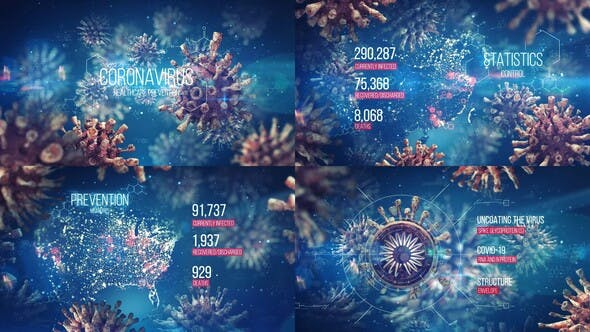 Videohive Coronavirus Healthcare Prevention Free Download