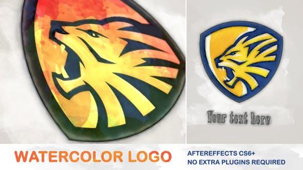Videohive Watercolor Logo 26187089 Free
