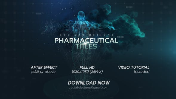 Videohive Pharmaceutical Titles l Fitness Titles l Health Care Titles l Medical Titles l Human Titles Free Download