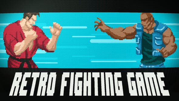 Videohive Retro Fighting Game v1.1 Free Download