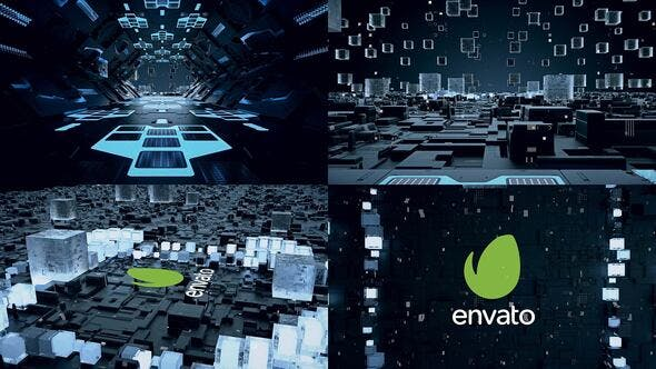 Videohive Technology Logo 26292416 Free Download