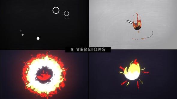 Videohive Minimal Logo – Idea on Fire Free Download