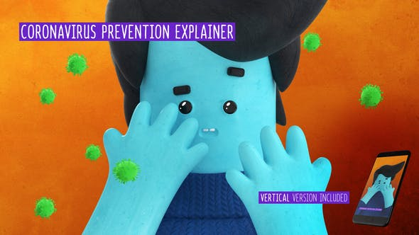 Videohive Coronavirus Prevention Explainer Free Download