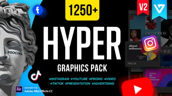 Videohive – Hyper – Graphics Pack V2 – 24835354 Free Download