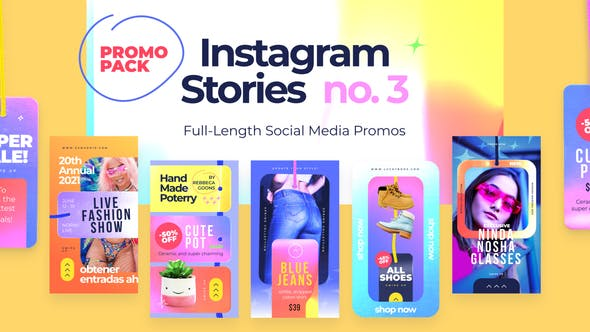 Videohive Instagram Stories no.3 Free Download