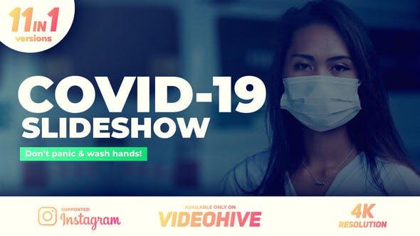 Videohive Coronavirus Covid-19 Slideshow 26355175 Free