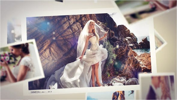 Videohive Wedding Mist Slideshow Free Download