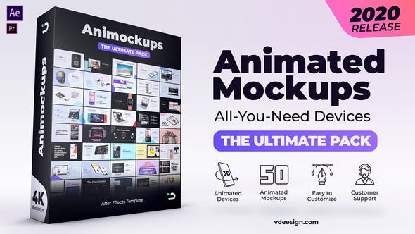 VIDEOHIVE ANIMATED MOCKUPS ULTIMATE PACK Free Download