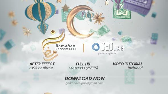 Videohive Ramadan Kareem Titles l Ramadan Kareem Wishes l Islamic Quran Month l Ramadan Celebrations Free Download