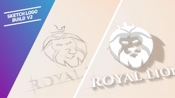 Sketch Logo Build V2 By Piktufa Videohive