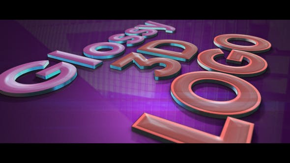 Videohive Glossy 3D Logo reveal 26502618 Free