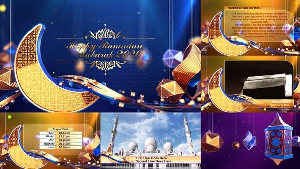 Videohive Ramadan Eid Broadcast Package Opener 26134921 Free