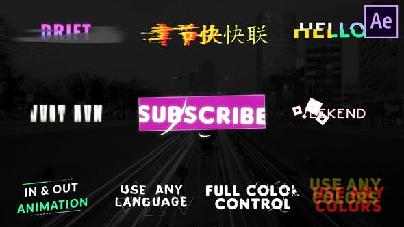 Videohive Unique Titles | After Effects Free Download