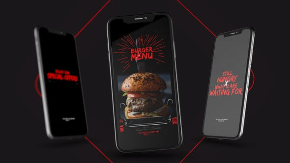 Videohive Food Delivery Instagram Promo Free Download