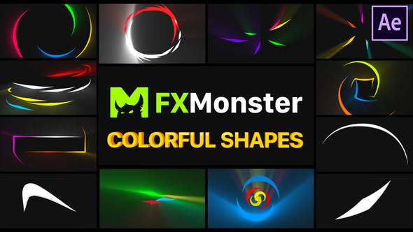 Videohive Colorful Shapes | After Effects Free Download