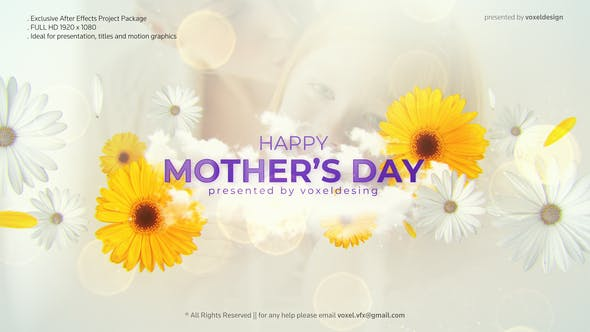 Videohive Happy Mother's Day Opener Free Download