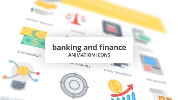 Videohive Banking and Finance – Animation Icons Free Download
