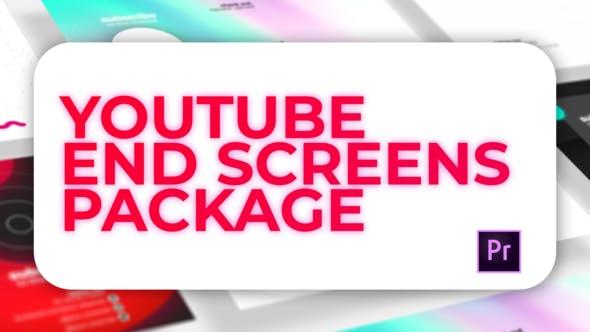 Youtube Endscreen Pack
