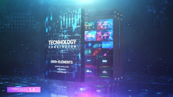 Videohive Technology Constructor Free Download