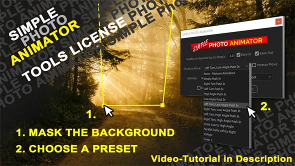 Photo Animator Video Effects Stock Videos From Videohive
