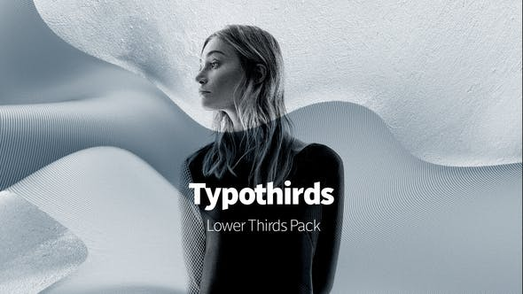 Videohive Typothirds – Lower Thirds Pack Free Download