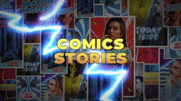 Videohive Comics Instagram Stories Free Download