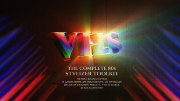 Videohive The Complete 80s Stylizer Toolkit Free Download