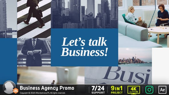 Videohive Business Agency Promo Free Download