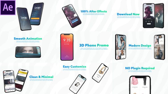 Videohive 3D Smartphone Presentation for After Effects Free Download