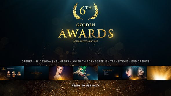 Videohive Awards Pack 26917473 Free Download