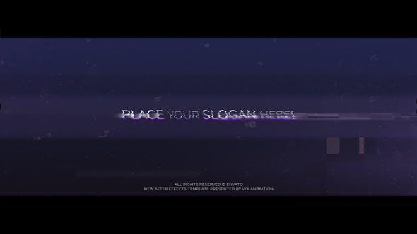 Videohive Glitch Logo v.1 Free Download