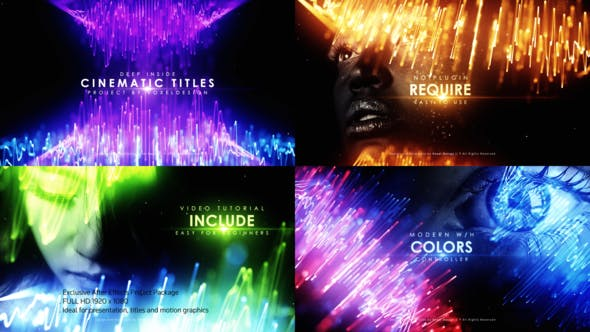 Videohive Deep Inside Cinematic Titles Free Download