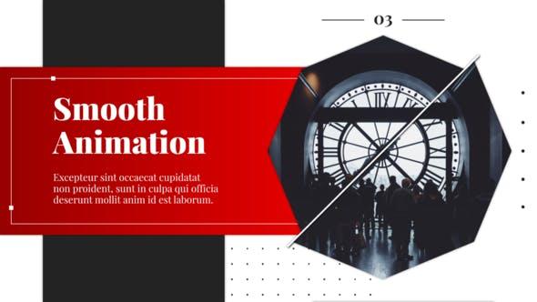 Videohive Line Rotation – Slideshow Free Download