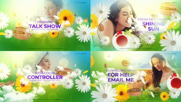 Videohive Morning Talk Show Opener Free Download